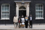 Kenyans at Downing Street over alleged Empire abuses
