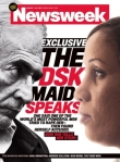 Newsweek cover, DSK Maid Interview