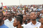 OccupyNigeria rally in OjotaTemi