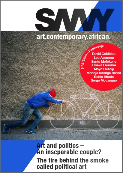 SAVVY, a Journal for Critical Texts on Contemporary African Art Cover