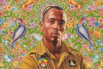 Portrait by Kehinde Wiley (from his series The World Stage: Israel)
