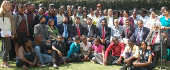 Dozens, if not hundreds of students from African countries go to India for their university studies. (Photo.)