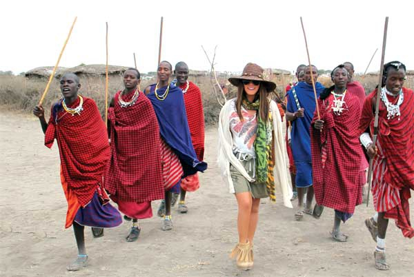 Stars Love Africa