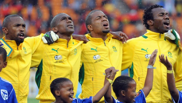 Football - 2013 Africa Cup of Nations Finals - South Africa v Cape Verde - National Stadium - Gauteng