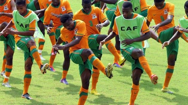 Chipolopolo-training