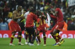 Expect to see a lot more of this sort of thing from the Black Stars. They do love a dance.