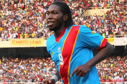 DR Congo have the best kit in the competition and Dieumerci Mbokani is their number nine. He loves a goal.