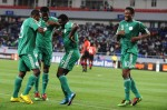 Obinna Nsofor and John Obi Mikel - Nigeria v Mozanbique Group C - African Cup of Nations