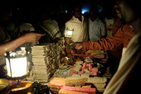 Sweets sold during Mawlid celebrations.
