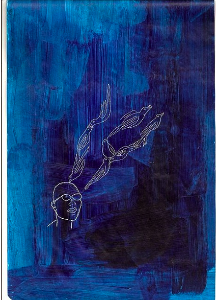 "Wura Natasha Ogunji, ""He visioned songbirds"" (2007)"