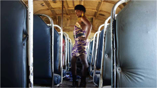 Nancy Mteki, from the series Pimp My Kombi (2011)